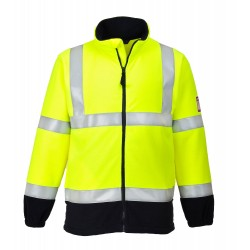 Vlamvertragende Antistatische Hi-Vis Fleece