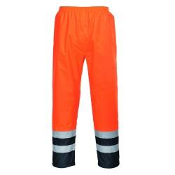 Spodnie ostrzegawcze, dwukolorowe