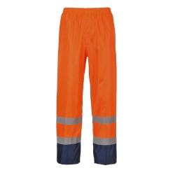 Klasyczne spodnie przeciwdeszczowe, ostrzegawcze i kontrastowe