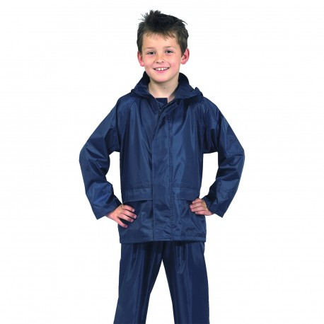 Klasyczna przeciwdeszczowa kurtka dziecieca