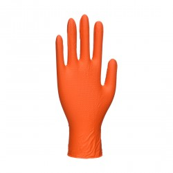 Portwest Oranje HD Disposable Handschoen