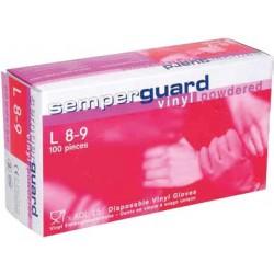 Rękawiczki SEMPERGUARD  VINYL PUDR