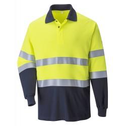 Vlamvertragend Antistatisch Tweekleuren Poloshirt
