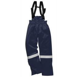 Spodnie na szelkach, ocieplane, trudnopalne, antyelektrostatyczne