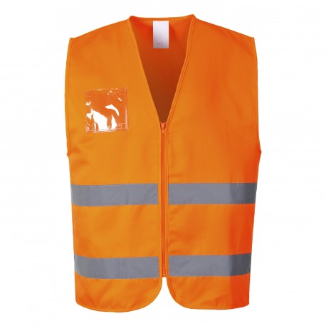 Hi-Vis Polyester/katoenen Vest