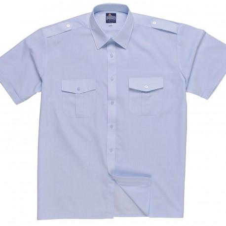 Pilot Shirt, Korte Mouwen