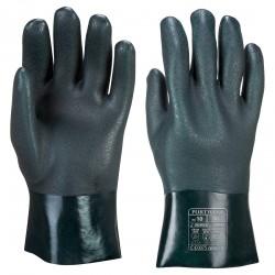 Dwuwarstwowa rękawica z PCV 27cm