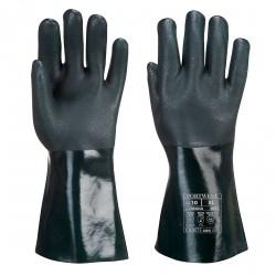 Dubbel Gedompelde PVC-handschoen 35cm