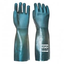 Rękawica pokryta podwójną warstwą PCV 45 cm