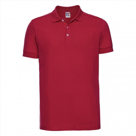 Men's Fitted Stretch Polo