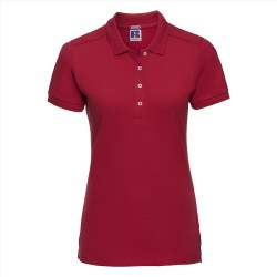Ladies Fitted Stretch Polo