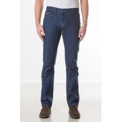 PANTS REGULAR STRETCH DENIM MID STONE