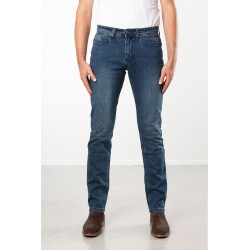 PANTS SLIM FIT STRETCH DENIM STONE USED