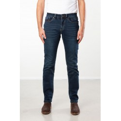 PANTS SLIM FIT STRETCH DENIM DARK BLUE