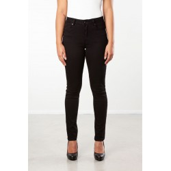 PANTS SLIM FIT STRETCH TWILL BLACK