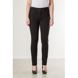 PANTS STRAIGHT STRETCH TWILL BLACK