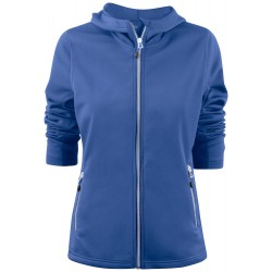Layback lady hooded
