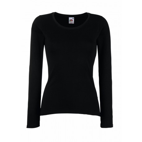 LADY-FIT VALUEWEIGHT LONG SLEEVE T