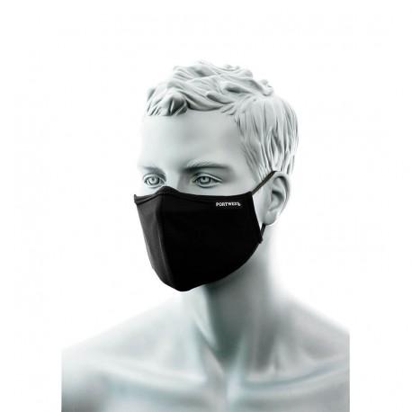 2-laags anti microbieel gezichtsmasker met neusbrug (Pk25)