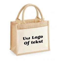 POCKET JUTE GIFT BAG